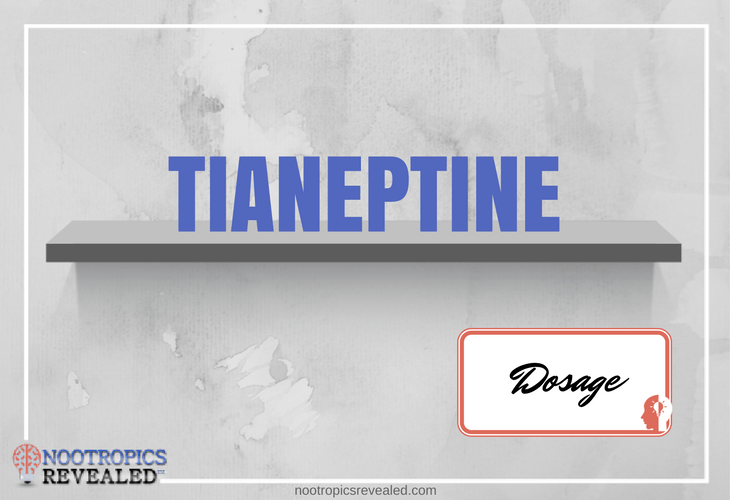 Tianeptine Dosage